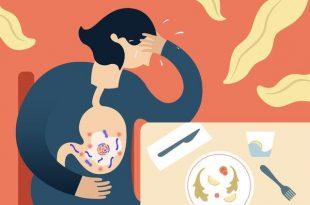 درمانهای خانگی برای مسمومیت غذایی