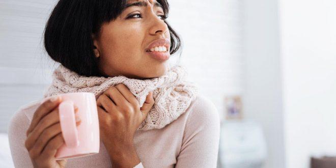 درمان گلودرد با پنيرک