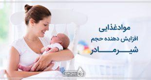 موادغذایی افزایش دهنده حجم شیر مادر