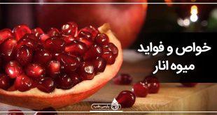 خواص و تاریخچه میوه انار