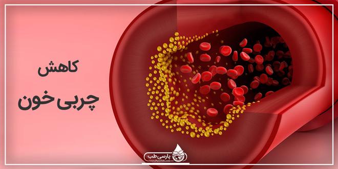 کاهش چربی خون