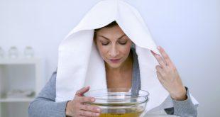 پاکسازی و شفاف سازی پوست با بخور