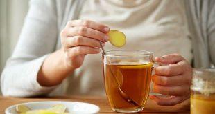 چای زنجبیل برای رفع سرماخوردگی