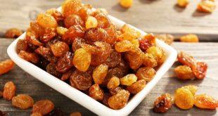 کشمش میوهای خشک برای کاهش وزن