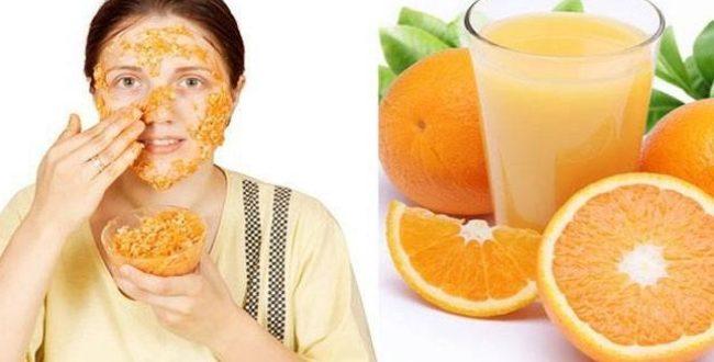 انواع ماسک خانگی پرتقالی