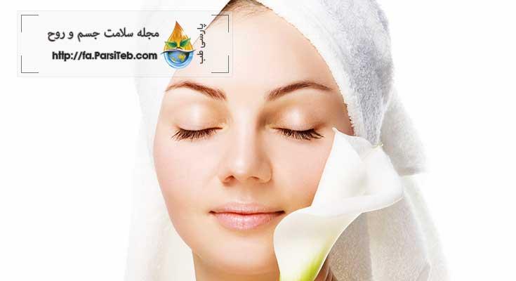 سلامت پوست درمان کک و مک