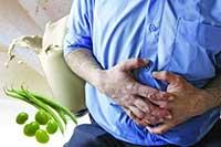 نفخ شکم و درمان خانگی