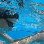 شنا در آب گرم