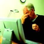 خستگي چشم در هنگام كار با كامپيوتر