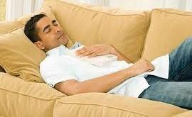 پس از مصرف غذاهای چرب بلافاصله نخوابید