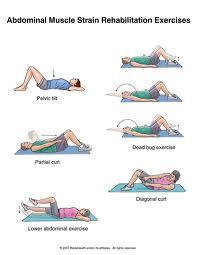سفت شدن عضلات شکم با ورزش