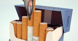 سیگار، دشمنی با لباس سفید و زیبا