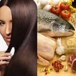 رژیم غذایی مناسب و برطرف شدن ریزش مو
