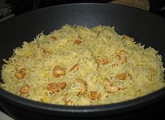 طرز پخت برنج کامفیروز