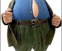 بزرگی شکم خطر ابتلا به بیماریهای قلبی را افزایش میدهد.