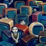 تماشای تلویزیون موجب افزایش  دیابت خصوصا در بچه ها می گردد.