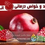خواص انار و آب انار در درمان بیماری ها