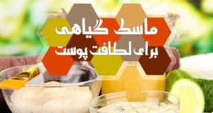 آموزش تهیه ماسک میوه ای گیاهی برای لطافت پوست - پارسی طب
