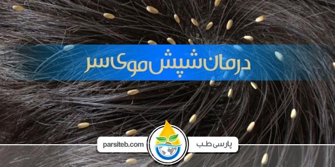 شپش موی سر پیشگیری و درمان با طب سنتی