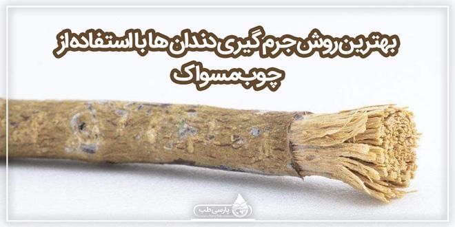 بهترین روش جرم گیری دندان ها با استفاده از چوب مسواک