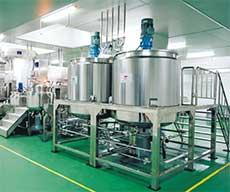 ترکیبات شامپو - خط تولید