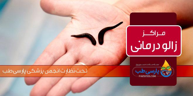زالو درمانی در مشهد ( اثرات درمانی زالو در طب سنتی و طب مدرن) - پارسی طب