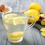 العسل والليمون الحامض