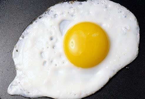 تخم مرغ - چربی سالم