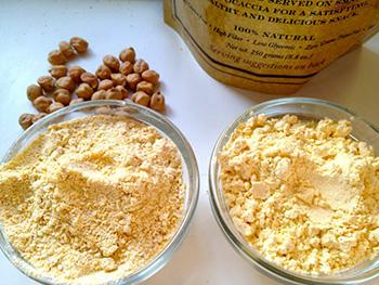 ماسک خانگی آرد نخود و شیر