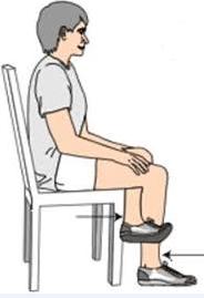 علاج دوالي الساقين-الجلوس بشكل صحيح