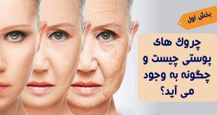 چروکهای پوستی چگونه بوجود می آید؟