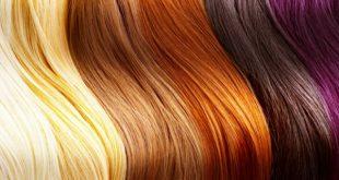 انواع رنگ موی طبیعی