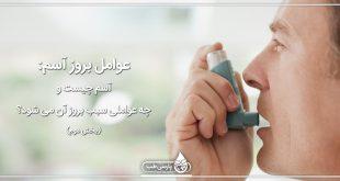 عوامل آسم: آسم چیست و چه عواملی سبب بروز آن می شود؟ (بخش دوم)
