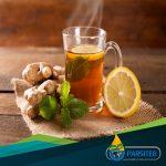 المشروبات المفيدة لعلاج الأنفلونزا-شاي الزنجبيل