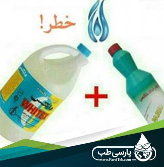 خطر ترکیب وایتکس با مواد دیگر