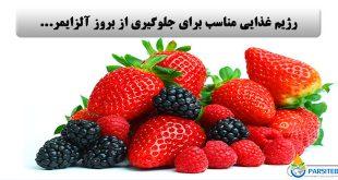 آلزایمر: رژیم غذایی مناسب برای جلوگیری از بروز آلزایمر…