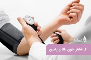 نشانه کمبود ویتامین در بدن