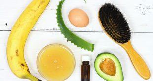 آموزش تصویری کراتین و بوتاکس طبیعی مو با گیاهان دارویی، ژلاتین و روغن نارگیل