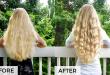 درمان خشکی موهای رنگ شده و آسیب دیده با پروتئین تراپی