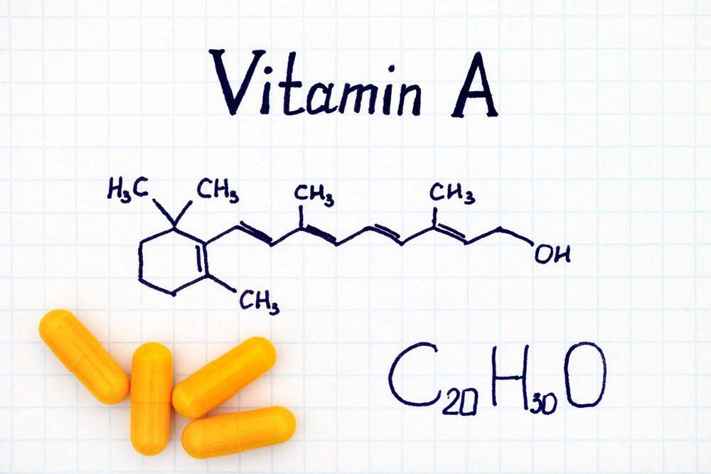 مصرف زیاد خانواده رتینوئیدها (مشتقات ویتامین A) باعث ریزش مو می شود